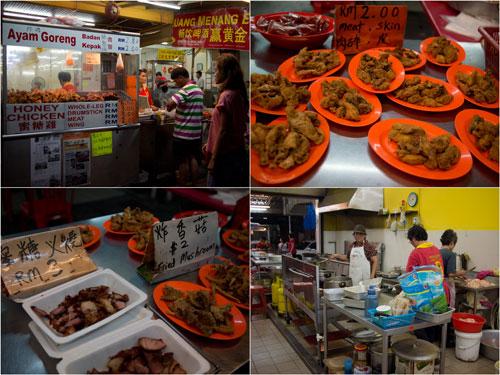 famous Menglembu honey chicken stall (shop now)