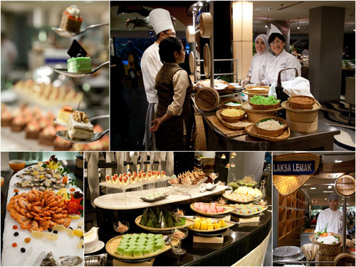 the buffet spread at Paya Serai remains, in addition to the peranakan food