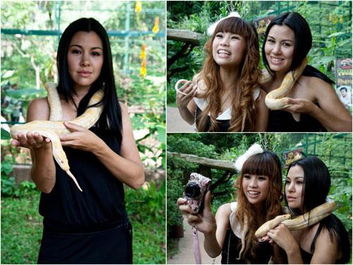 shooting cheesie and jojo with snake