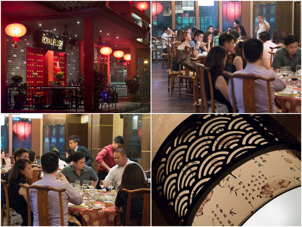 Royal Flush Chinese Restaurant at Oasis, Ara Damansara