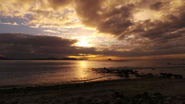 Sunset at Anilao