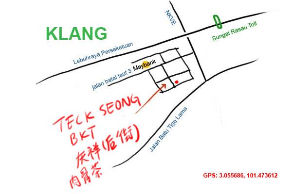 map to teck seong bkt