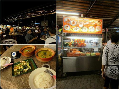 Thai food stall at Ming Tien food court