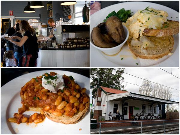 MART 130, excellent breakfast place