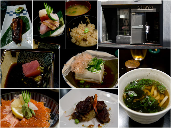 Japanese food? No problem, Shoya is more than satisfactory