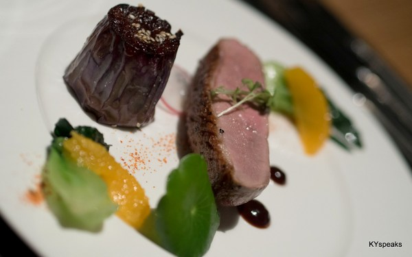 Himalayan salt and Sansho roast duck breast