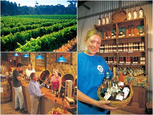 wine and dine at Margaret River
