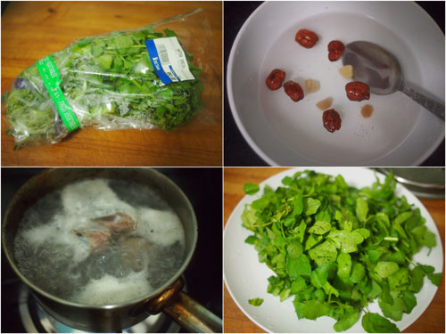 watercress soup recipe