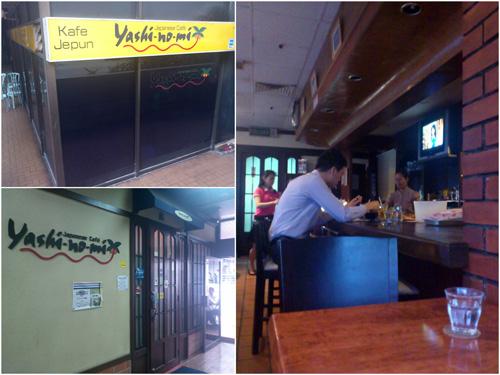 Yashi-no-mi Japanese Cafe at Wisma Cosway