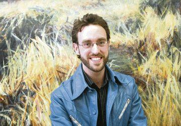 Gareth Bate, dont l'exposition commence ce mardi 7 octobre à la galerie Glendon.