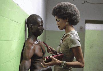 Une scène de Grigris, film franco-tchadien.