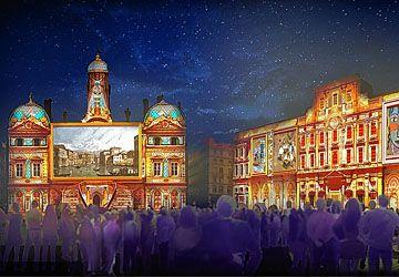 Le patrimoine de Lyon est mis en valeur chaque année, le 8 décembre, à l'occasion de la Fête des lumières.