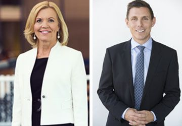 Christine Elliott et Patrick Brown.