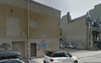 27 avant Festival Mural sur Clark au nord de Duluth Google map as of july 2015.png