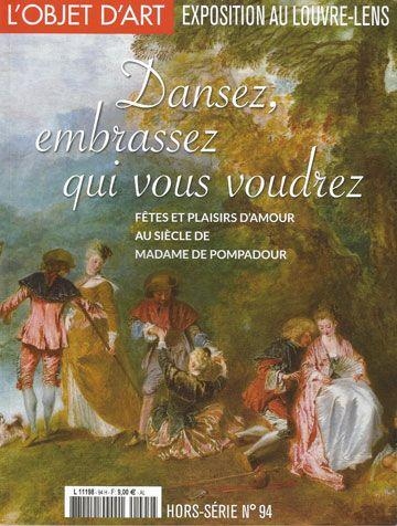 L'Objet d'Art, hors-série no 94, Dansez, embrassez qui vous voudrez, décembre 2015, 28x21 cm, 60 illustrations, 50 p.