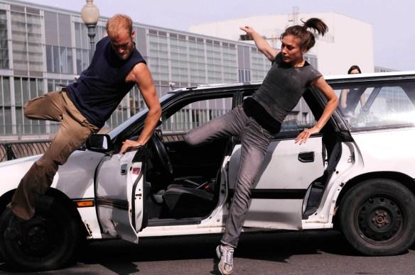 Andrew Turner et Milan Gervais dans Auto-Fiction. (Photo: Sandra Lynn Bélanger).