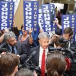 Le candidat présidentiel du Parti libertarien, Gary Johnson.