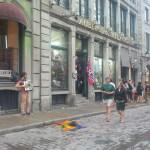 On ne se lasse jamais de se balader dans le Vieux Montréal.