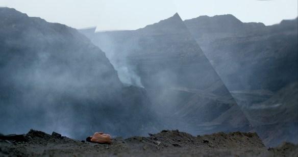 Une scène du film Behemoth, de Zhao Liang.