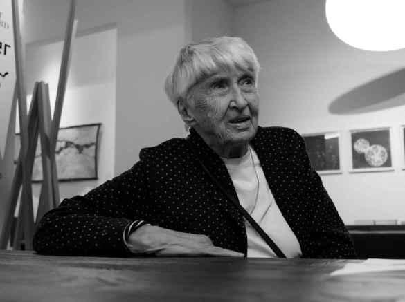 Marguerite Andersen (photo: Philippe Davisseau)