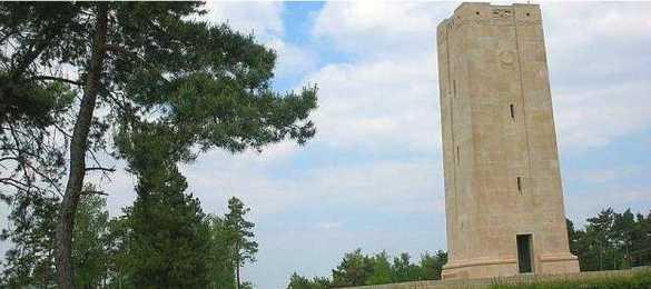 Le monument américain du Blanc Mont. (Photo: Atout France)