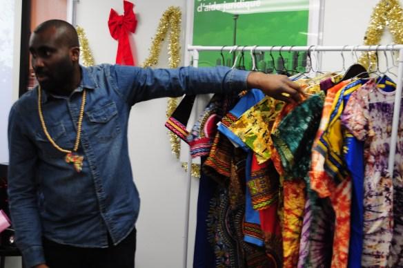 Vêtements africains.