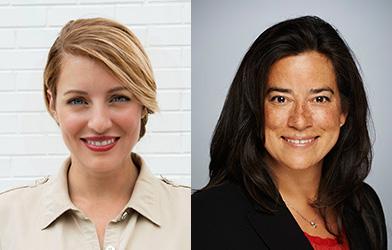 Les ministres Mélanie Joly et Jody Wilson-Raybould.