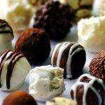 Valentine's chocolate truffle