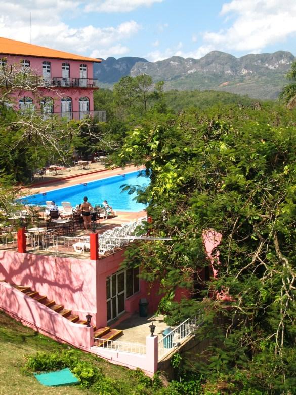 L'hôtel Los Jazmines.