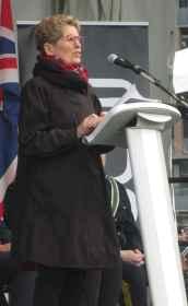La première ministre de l'Ontario, Kathleen Wynne.