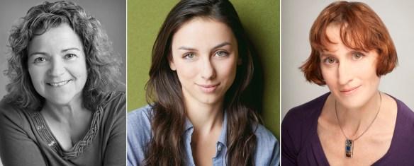 Esther Beauchemin, Sasha Dominique, Marie-Claire Marcotte.