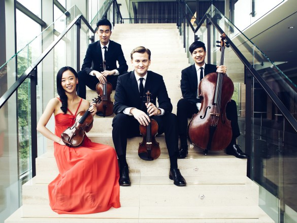 Le Rolston String Quartet.