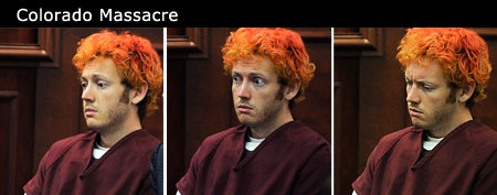 Colorado shooting suspect James Holmes appears in court (AP/Pool)