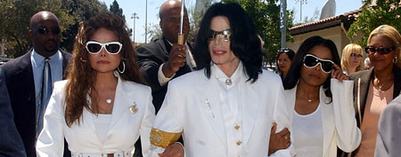 LaToya Jackson, Michael Jackson and Janet Jackson (WireImage)