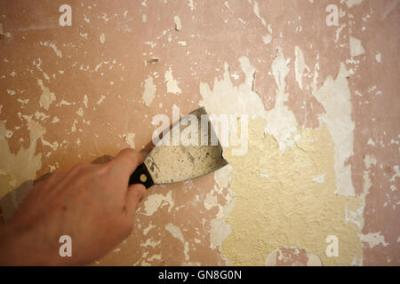 stripping wallpaper Stock Photo: 28318956 - Alamy