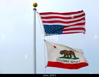 California State Flag Stock Photos & California State Flag Stock Images - Alamy