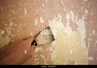 Stripping Wallpaper Stock Photos & Stripping Wallpaper Stock Images - Alamy