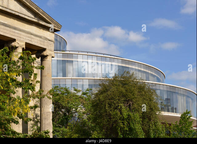 Delighful Modern Architecture Oxford Classical Building Contrasting With Design Inspiration