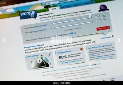 Wonga Stock Photos & Wonga Stock Images - Alamy