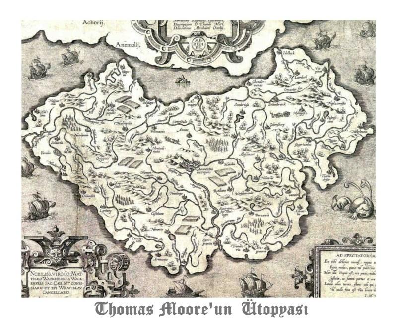 La mappa di Utopia di T. More