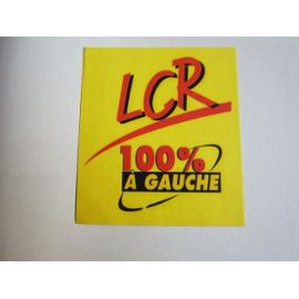 LCR 100 % à gauche has been feuille2choucapture