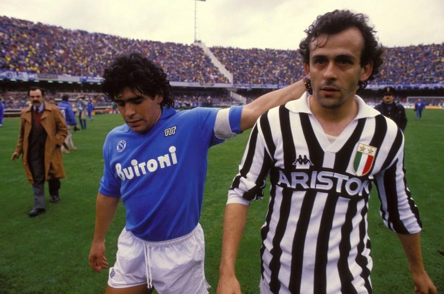 Maradona-Platini2