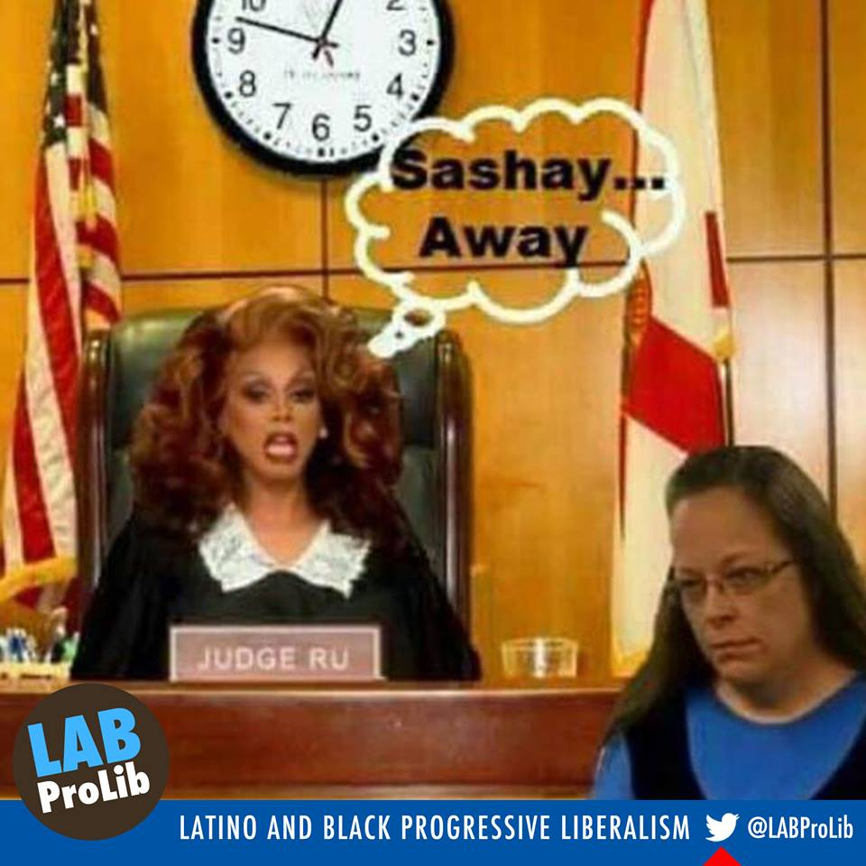 Judge Ru: Sashay Away (lol)