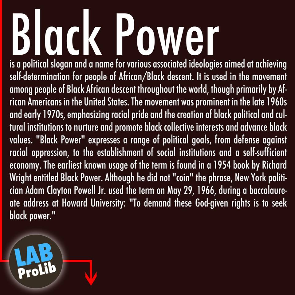 What does the expression White power mean