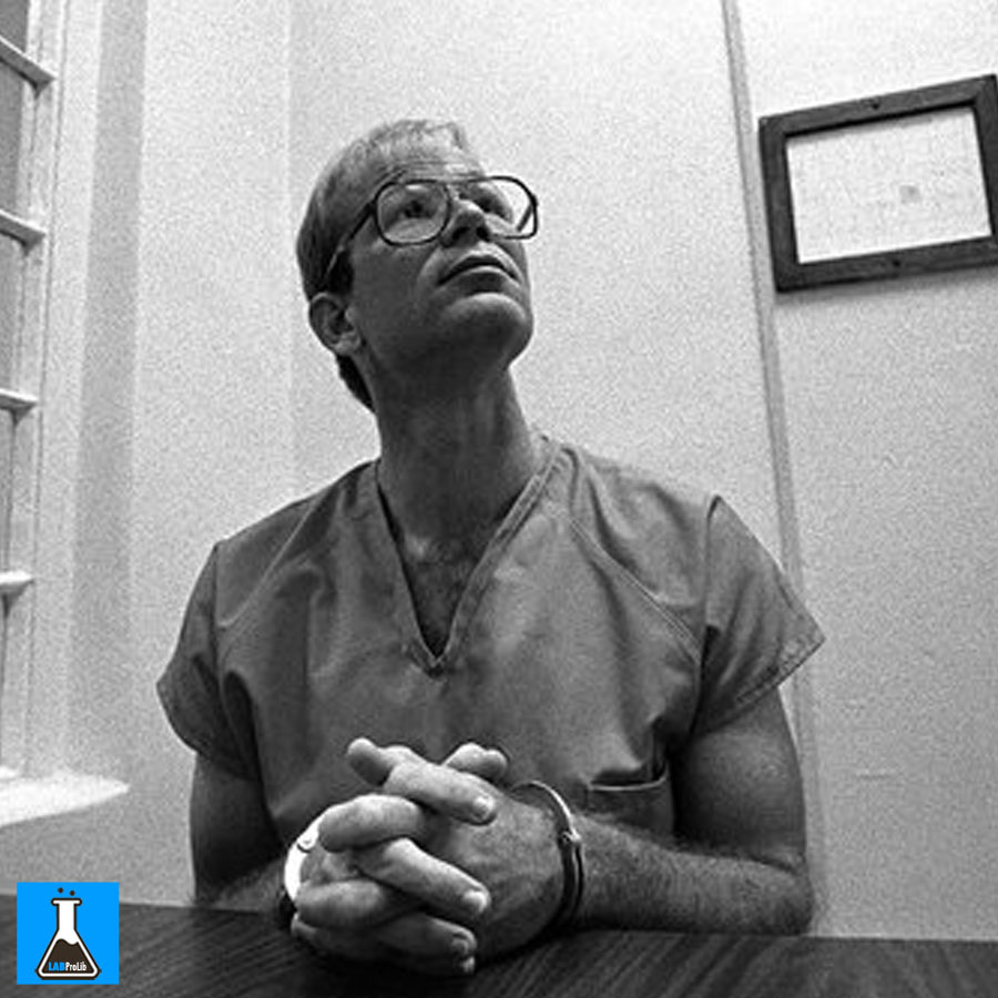 Paul Hill on death row in Florida in September 1995.CreditGene Bednarek/Silver Image for The New York Times