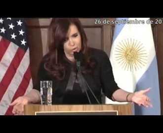 CFK en Georgetown sobre la inflación