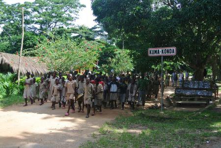 Les écoliers de Kouma Konda