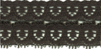 1'' Black Lace Trim1'' Black Lace Trim