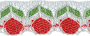 3/4'' Cherry Lace Trim3/4'' Cherry Lace Trim