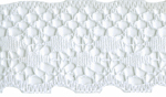 1 3/16'' White Lace Trim1 3/16'' White Lace Trim